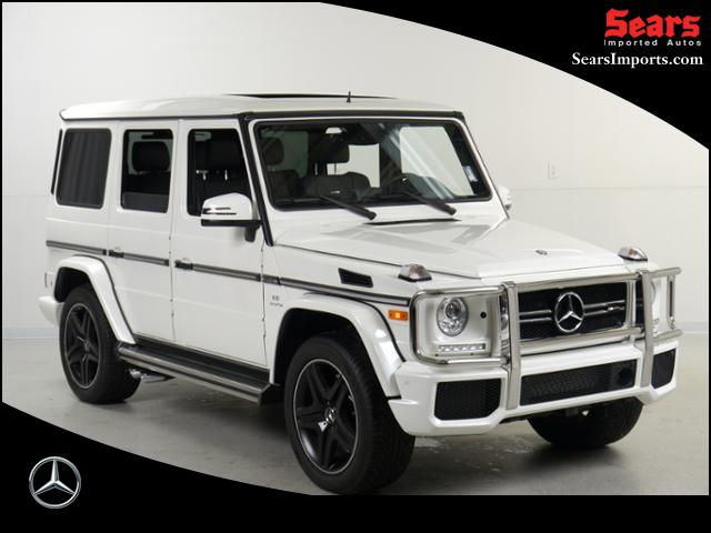 pre owned 2016 mercedes benz g class amg g63 sport utility