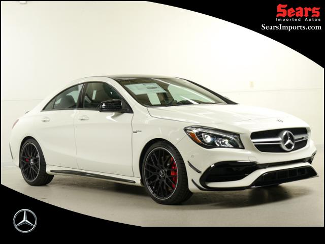 New 2017 mercedes benz cla amg cla45 coupe in minnetonka for Mercedes benz minnetonka